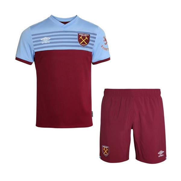 Maillot Foot West Ham United 1ª Enfant 2019-2020 Rouge